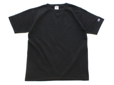 CHAMPION【チャンピオン】T-1011 U.S T-SHIRTS *BLACK
