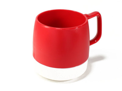 DINEX【ダイネックス】INSULATED CLASSIC MUG CUP *RED/OFF WHITE