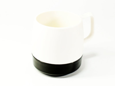 DINEX【ダイネックス】INSULATED CLASSIC MUG CUP *BLACK/OFF WHITE