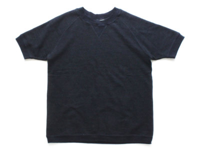 DUBBLEWORKS【ダブルワークス】INDIGO CREW NECK SHORT SLEEVE SWEAT