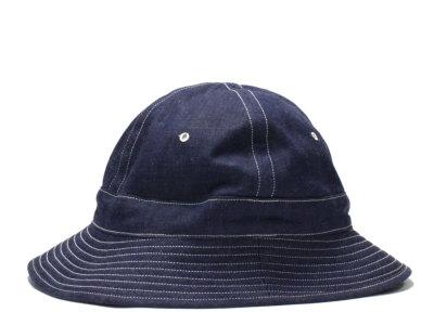 WAREHOUSE【ウエアハウス】#5200 DENIM ARMY HAT *OR