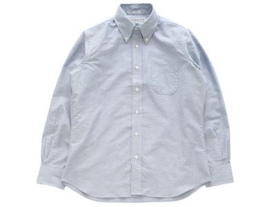 INDIVIDUALIZED SHIRTS【インディビジュアライズドシャツ】B.D SHIRT *REGATTA OXFORD BLUE / STANDARD FIT