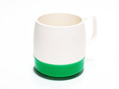 DINEX【ダイネックス】INSULATED CLASSIC MUG CUP 2TONE *OFF WHITE/GREEN