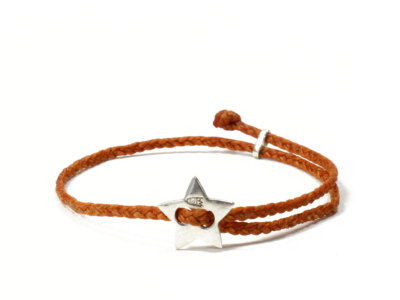SCOSHA【スコーシャ】SIGNITURE STAR BRACELET #SB13.2 *ORANGE