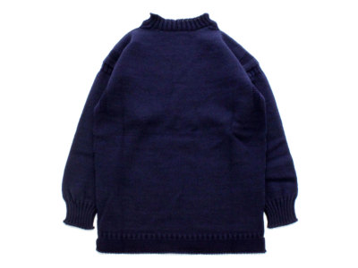 GUERNSEY WOOLLENS【ガンジーウーレンズ】GUERNSEY TRADITIONAL *NAVY