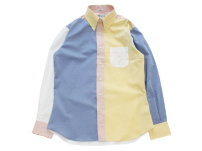 INDIVIDUALIZED SHIRTS【インディビジュアライズドシャツ】ENGNEERED B.D SHIRT *OXFORD MULTI / STANDARD FIT