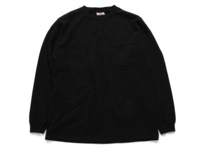 GOODWEAR【グッドウェアー】L/S POCKET TEE *BLACK