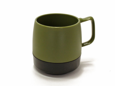 DINEX【ダイネックス】INSULATED CLASSIC MUG CUP 2TONE *OLIVE/BLACK