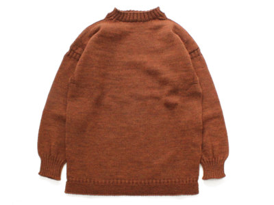 GUERNSEY WOOLLENS【ガンジーウーレンズ】GUERNSEY TRADITIONAL *GINGER