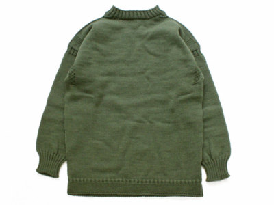 GUERNSEY WOOLLENS【ガンジーウーレンズ】GUERNSEY TRADITIONAL *GREEN