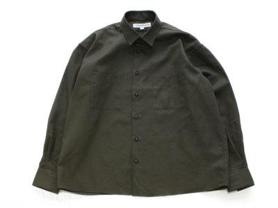 INDIVIDUALIZED SHIRTS【インディビジュアライズドシャツ】UNIFORM SHIRT *OLIVE