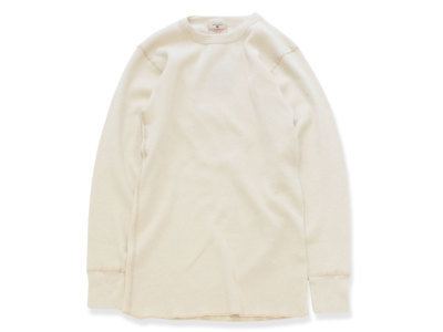 GOODWEAR【グッドウェアー】L/S THERMAL TEE *NATURAL