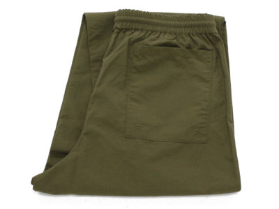 BURLAP OUTFITTER【バーラップ アウトフィッター】TRACK PANTS *OLIVE DRAB