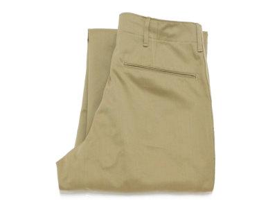 WAREHOUSE【ウエアハウス】#1216 M-41 TYPE U.S.ARMY CHINO PANTS O/R